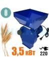 Зернодробарка Donny DYB 3500 Україна (3,5 кВт, 240 кг/год) синя - фото