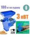 Зернодробарка Master Kraft IZKB 3000 (3 кВт, 220 в, зерно 200 кг/год) - фото