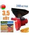 Зернодробарка Могилев МКЗ 240 (3,5 кВт, 240 кг/год) - фото