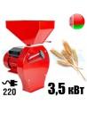 Зернодробилка Беларус БКЭ-3500 (3,5 кВт, 240 кг/час) PROМАШ - фото