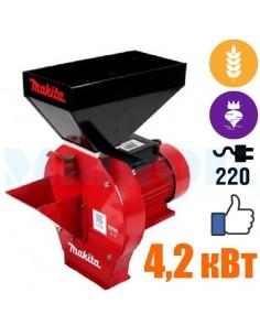 Корморезка- зернодробилка Makita EFS 4200 (4,2 кВт, зерно, корнеплоды) - фото