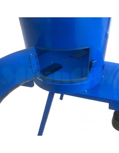 Корморезка- лущилка кукурузы с лючком Bizon-1ЛК (260 кг/час) - фото