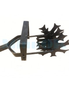 Культиватор ручной стальной на 4 звезды - фото