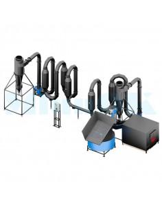 Двухконтурная аэродинамическая сушилка для опилок СА-800 - фото