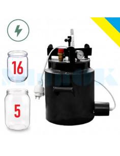 Автоклав электрический Средний-16Э винтовой - фото