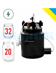 Автоклав электрический Макси-32Э винтовой - фото