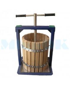 Пресс винтовой 25 л Вилен дубовый для сока винограда, яблок, томатов - фото