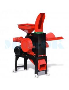 Измельчитель кормов MS 400-24 с турбиной (4 кВт, 1000 кг/час) - фото