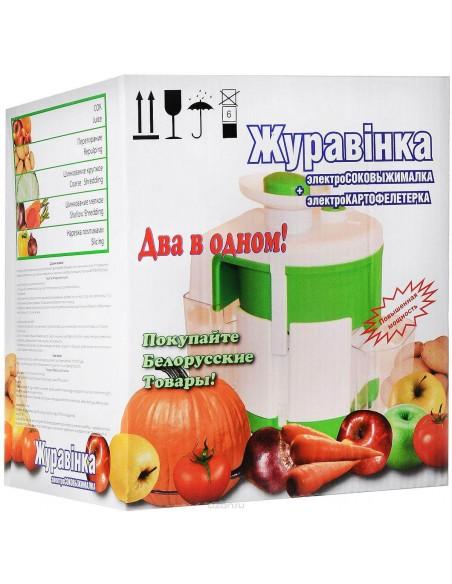 """Соковыжималка с шинковкой """"Журавинка"""" СВСП 102П садовая - фото"""