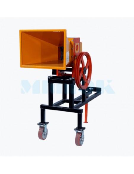 Измельчитель веток 2В-80М от мотоблока (5м3 в час) - фото