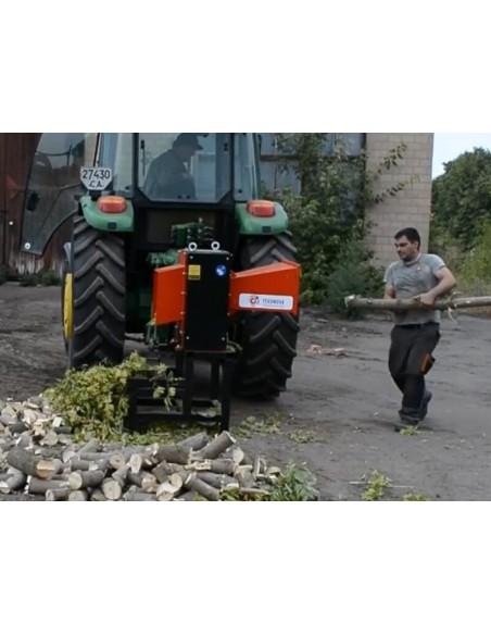 Измельчитель веток TN-180Т от ВОМ трактора (12 м3 в час) - фото