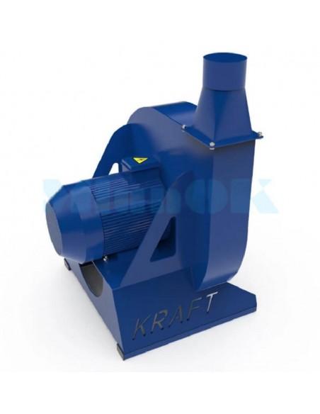 Зернодробилка молотковая KRAFT-11 (11 кВт, 1000 кг в час) - фото