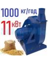 Зернодробарка молоткова KRAFT-11 (11 кВт, 1000 кг на годину) - фото