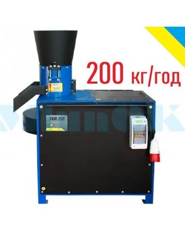 Гранулятор ГКМ-200 (5,5/7,5 кВт, 380 в, 200 кг/час) - фото 1