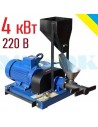 Екструдер ЕГК - 30 (220 В, 4 кВт, 30 кг/год) - фото