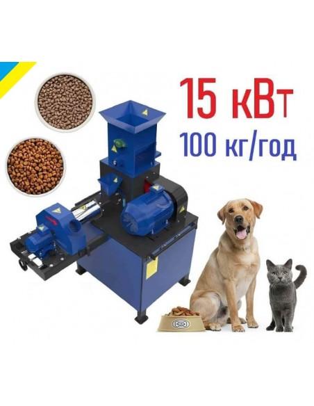 Экструдер для корма домашним животным ЭШК-60 (собакам, котам, рыбе) - фото