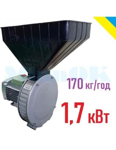 Зернодробилка Газда Р71 (1,7 кВт, 170 кг/час) - фото 1