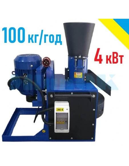 Гранулятор ОГП-150 (380 В, 4 кВт, 100 кг/час) - фото