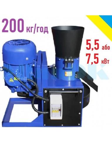 Гранулятор ОГП-200 (5,5/7,5 кВт, 380 в, 200 кг/час) - фото 1
