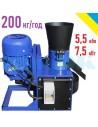 Гранулятор ОГП-200 (5,5/7,5 кВт, 380 в, 200 кг/год) - фото