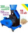 Гранулятор GRAND-200 (11 кВт, 350/150 кг на годину) - фото