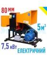 Подрібнювач гілок 2В-80Е електричний (5м3 на годину) - фото