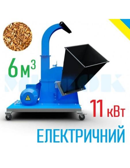 Щепорез Crusher-600 электрический 11 кВт - фото