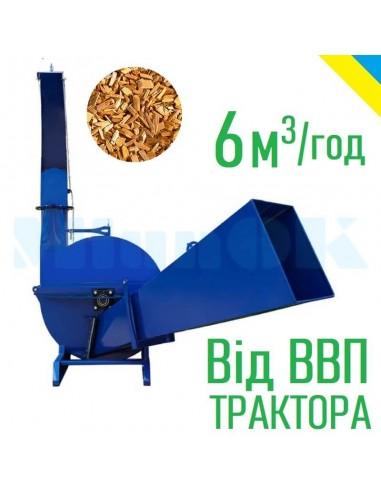 Щепорез Crusher-600 от ВОМ трактора - фото 1
