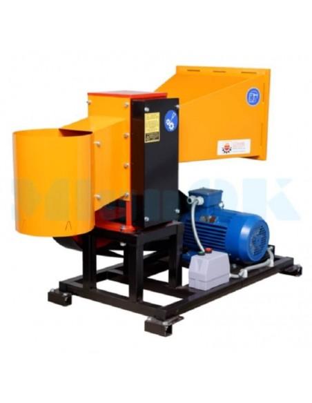 Измельчитель веток 2В-100Е электричества (6м3 в час) - фото