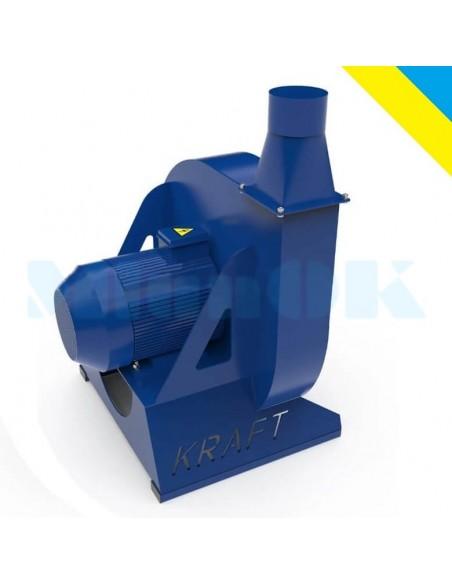Зернодробилка молотковая KRAFT-15 (15 кВт, 1300 кг в час) - фото