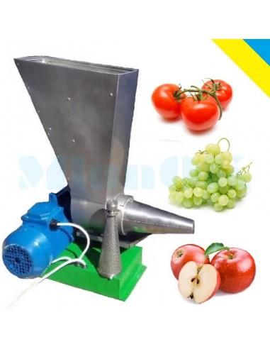 Соковыжималка шнековая редукторная СШ -1 для яблок, овощей, томатов (1 кВт, 220 в/380 в) - фото 1
