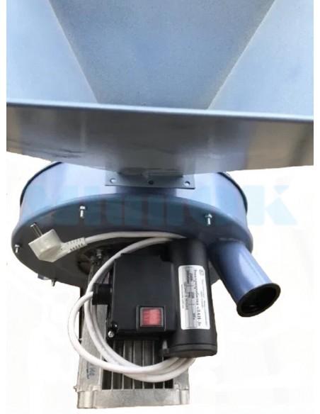 Зернодробилка ЛАН 3 (2,5 кВт, 320 кг/час) - фото