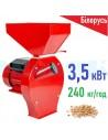 Зернодробарка Беларус БКЭ-3500 (3,5 кВт, 240 кг/год) PROМАШ - фото