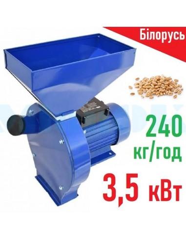 Зернодробилка Млин-5 МЛ-3500 (3,5 кВт, 240 кг/час) Машзавод - фото 1