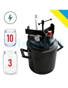 Автоклав электрический Мини-10Э винтовой - фото