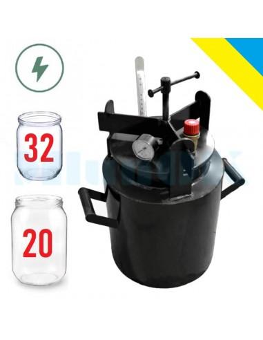 Автоклав электрический Макси-32Э винтовой - фото 1