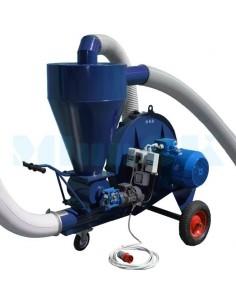 Пневмотранспортер для зерновых (7,5 кВт, 5000 кг/час) - фото