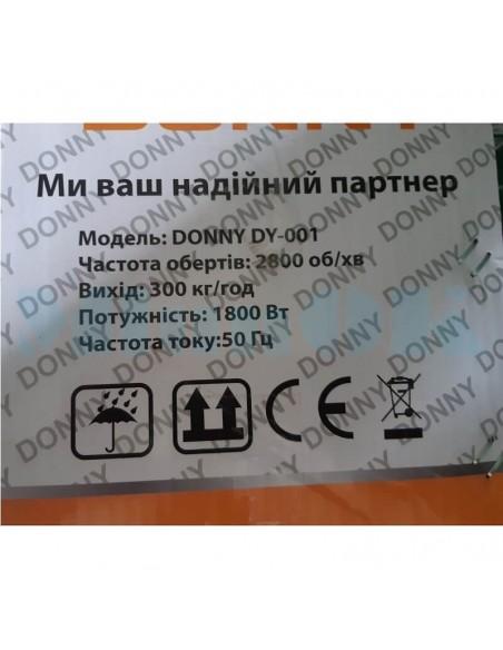 Лущилка Donny DY-001 (1,8 кВт, 300 кг/час) кукурузы - фото