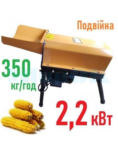 Лущилка кукурузы Donny DY-003 (2,2 кВт, 350 кг/час) двойная - фото 1