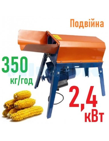 Лущилка кукурузы Donny DY-004 (2,4 кВт, 350 кг/час) двойная - фото 1