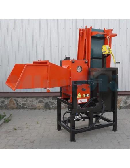 Измельчитель веток TN-180TK3 PRO с конвейерной лентой 3м (12 м3 в час) - фото