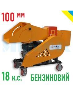 Измельчитель веток 2В-100Б бензиновый (6м3 в час) - фото