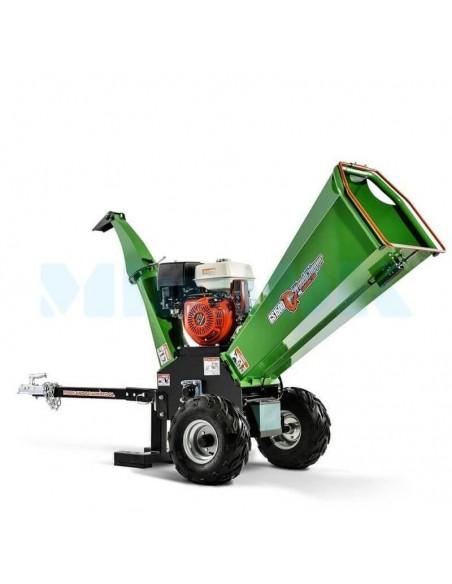 Щепорез GS-1500 бензиновый с прицепным устройством (8 м3 в час) - фото