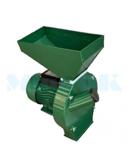 Зернодробилка Donny DYC 3000 Україна (3 кВт, 240 кг/час) зеленая - фото