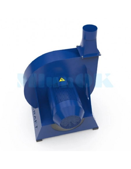 Зернодробилка молотковая KRAFT-4 (4 кВт, 500 кг в час) - фото