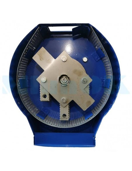 Зернодробилка Donny 3400 Україна (3,5 кВт, 240 кг/час) синяя - фото