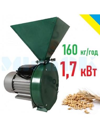 Зернодробилка ЛАН 1 (1,7 кВт, 160 кг/час) - фото 1