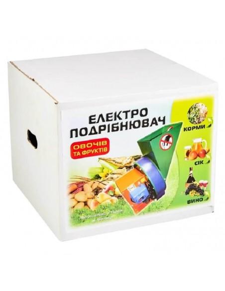 Измельчитель для овощей и фруктов электрический ПОФ металл - фото