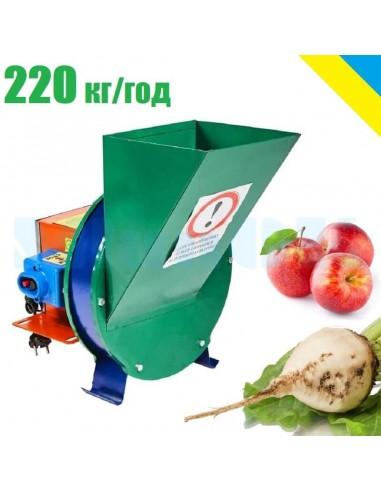 Измельчитель для овощей и фруктов электрический ПОФ металл - фото 1