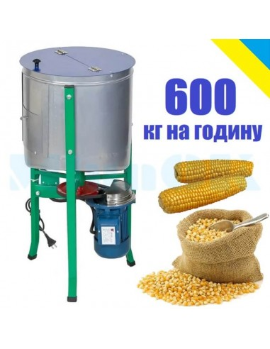 Лущилка кукурузы Бочка 45 л (1,5 кВт, 600 кг/час) - фото 1